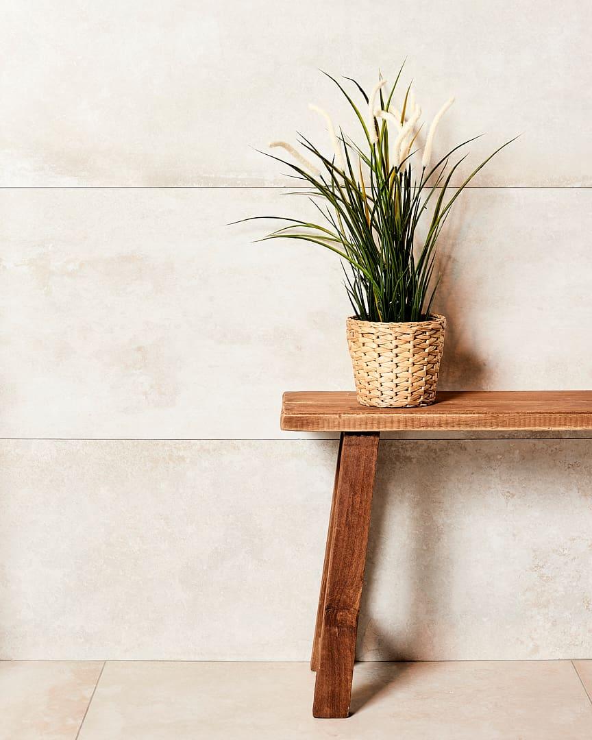 Badkamer stylen: voeg planten toe